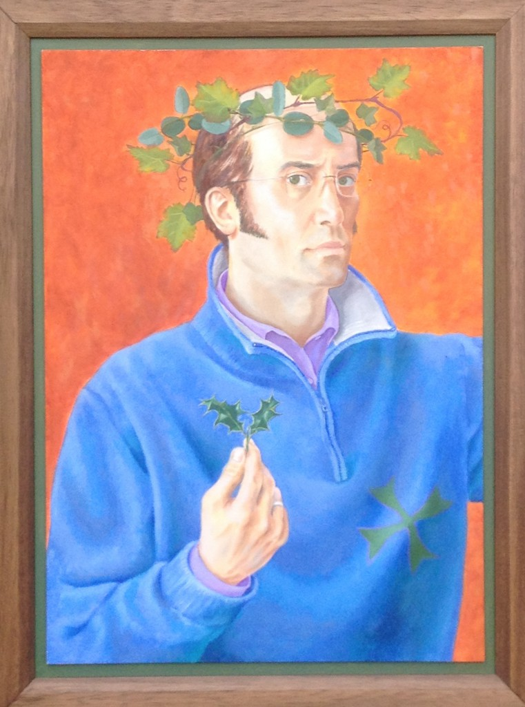 'Man for All Seasons' oil on board, 70 x 50 cm (2009-11)