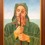 'Man for All Seasons' oil on board, 70 x 50 cm (2009-11)