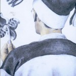 'Reflection' pencil and charcoal on paper (2001)