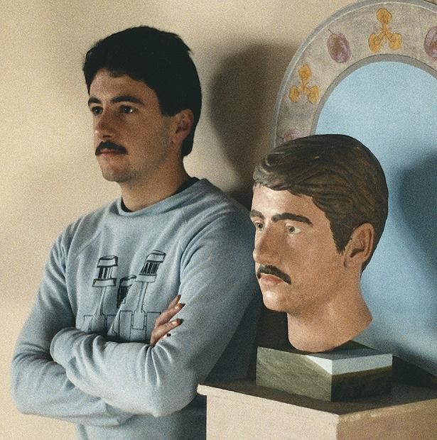 Bryn is reunited with 'Bryn', Theatr Ardudwy, Harlech 1985