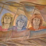 'Ingrid Surgenor: Piano Accompanist' pastel and watercolour on paper, 75 x 110 cm (1991)