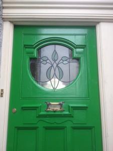 Front Door, 5 Cwmdonkin Drive, Swansea - photograph (2014)