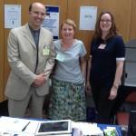 Ceri Thomas, Angharad Evans (USW) and Kristine Chapman (AC-NMW), Arlis conference, Cardiff Metropolitan University 16 July 2015
