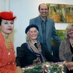 Tiffany Oben, Joan Baker, Ceri Thomas and Julie Matthews, Oriel y Bont 2009