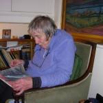 Mary Fogg, Llanbedrog, 9 December 2007