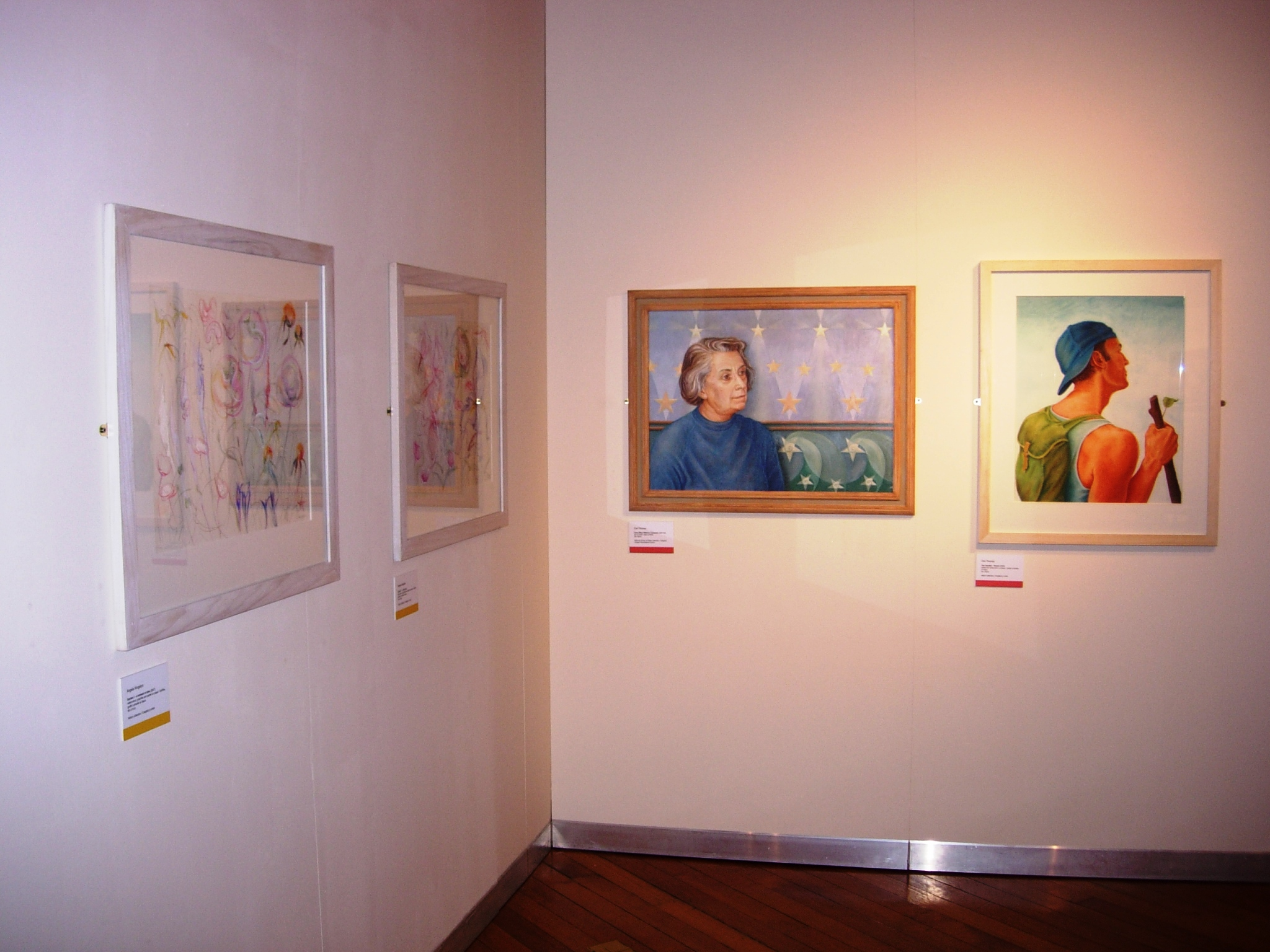 Mapping the Welsh Group at 60: Works on paper by Angela Kingston and Ceri Thomas, National Library of Wales, 2008