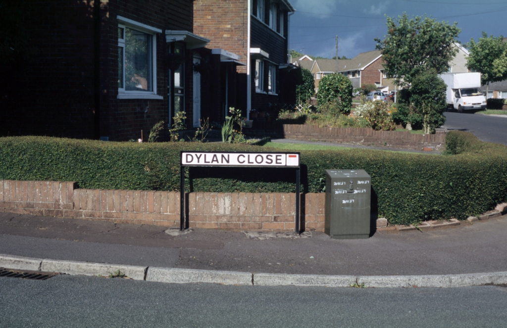 'After Dylan: Dylan Close, Killay' photograph (4 July 2005)