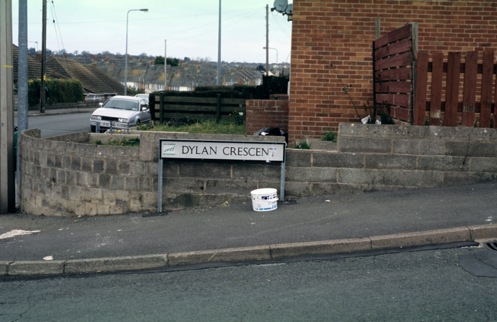 'After Dylan: Dylan Crescent, Merthyr Dyfan, Barry' photograph (11 March 2005)