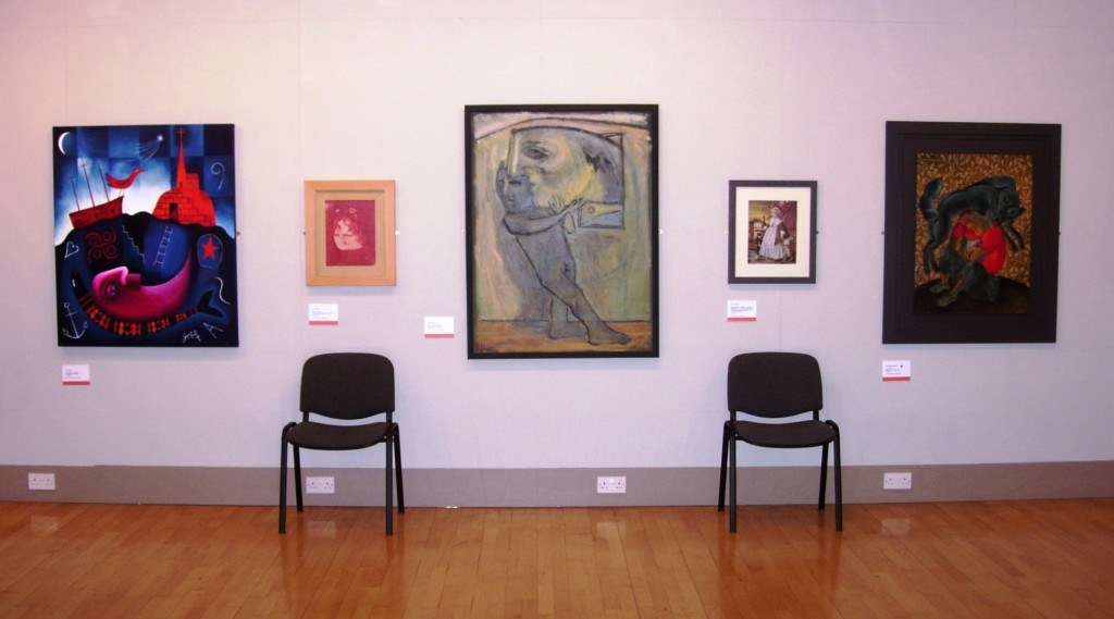'Mapping the Welsh Group at 60': exhibits by Tony Goble, Paul Brewer, Keith Bayliss, Alan Salisbury and Clive Hicks-Jenkins, Royal Cambrian Academy 2009