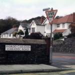 'Cofio Caradog: Fordd Caradog / Caradoc Road, Aberystwyth' photograph (23 October 2004)