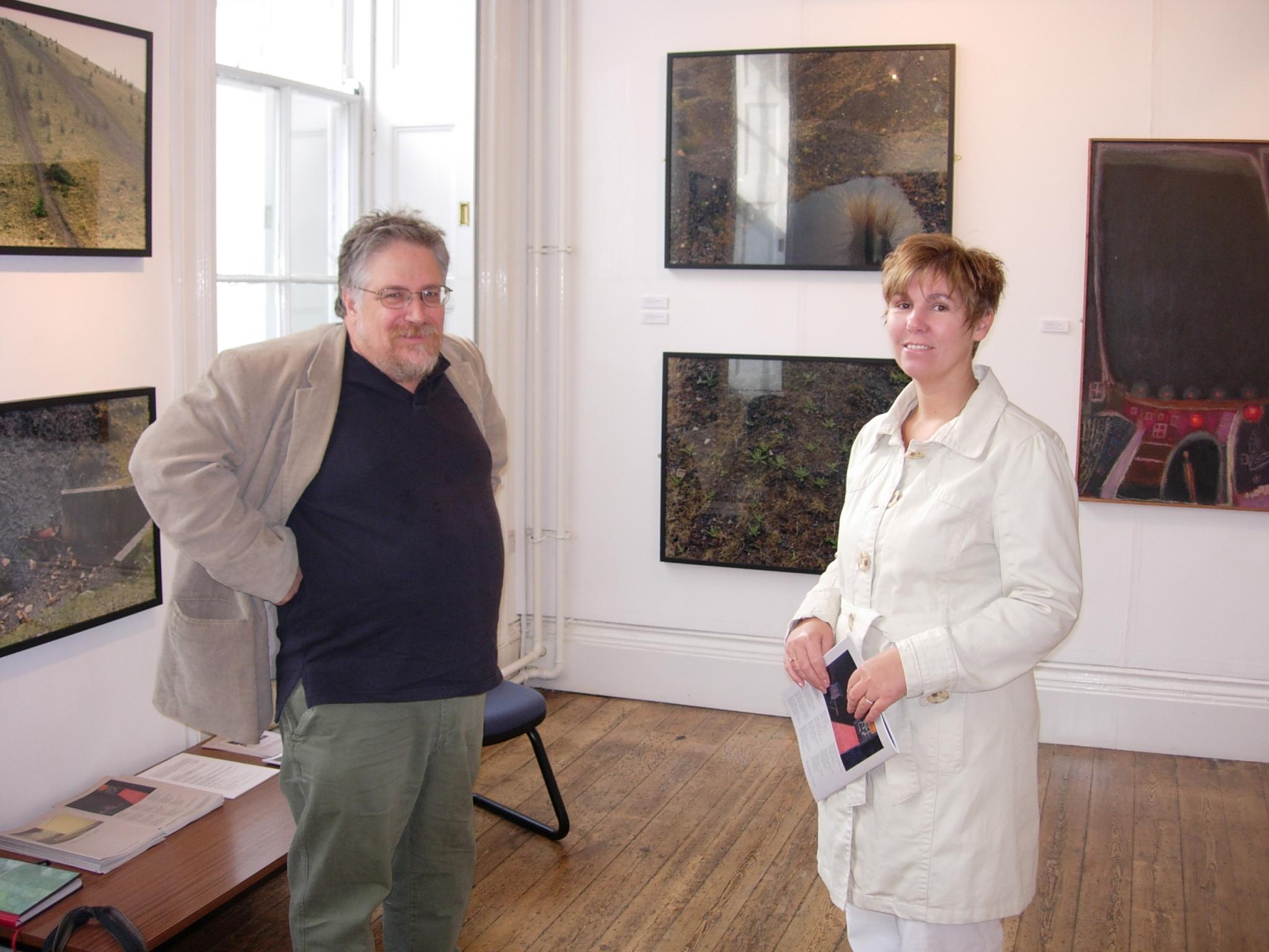 Ray Klimek with Nikki Zobole, Zobole Gallery 2007